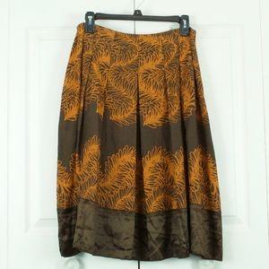NEW J. Jill Silk Lightweight Skirt Size 12 P $89